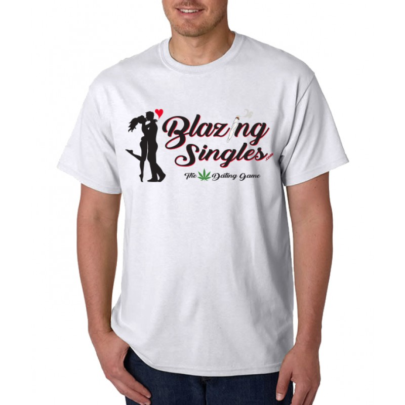 Blazing Singles - Men's T-Shirts