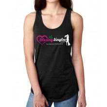 Blazing Singles - Women's Tank Top - Black