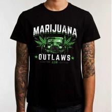 Marijuana Outlaws - Hot Rod- T-Shirt