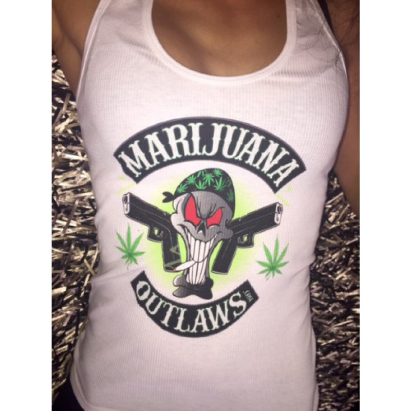 Marijuana Outlaws Women's Tank Top