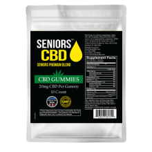 Seniors CBD Gummies 10ct 20mg