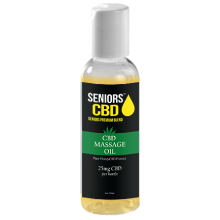 Seniors CBD Massage Oil 20mg