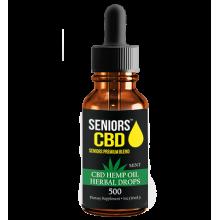Seniors CBD – CBD Tincture 500mg
