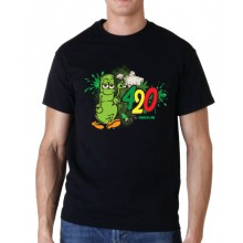 Smoke 10 - Men's 420 Bong T-Shirt