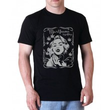 Marijuana Selfies - Marilyn Men's T-Shirt