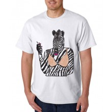 Smoke 10 - Zebra T-Shirt