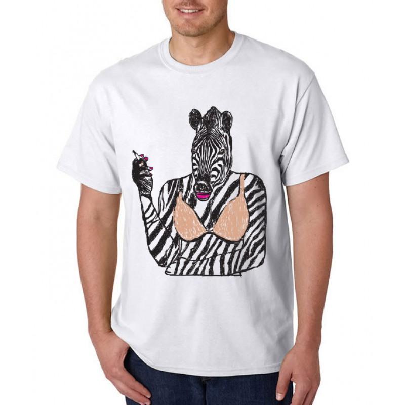 Smoke 10 - Zebra T-Shirt