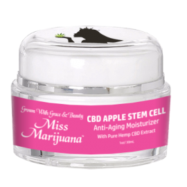 Miss Marijuana CBD Apple Stem-Cell Anti-Aging Moisturizer