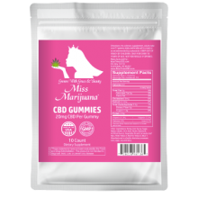 Miss Marijuana CBD Gummies 10ct 20mg
