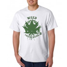 Smoke10 - Weed Casualwear Men's T-Shirt - Big Leaf