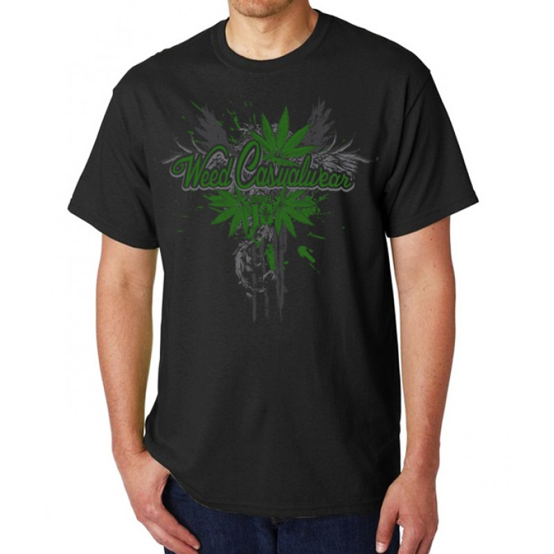 Smoke10 - Weed Casualwear Men's T-Shirt