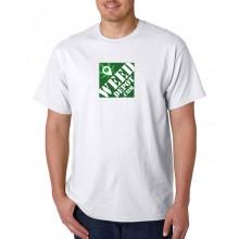 Weed Depot - White Square Logo Shirt