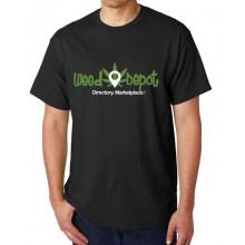 Weed Depot - Black T- Shirt