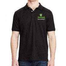 Weed Depot - Black Polo Shirt